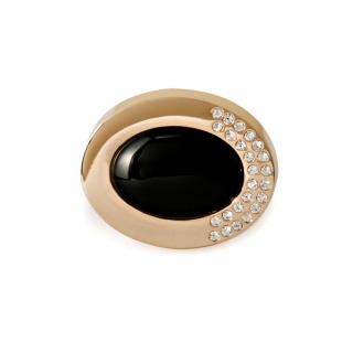 obrázek Manžetové knoflíčky Helveco Oval Collection - zlaté