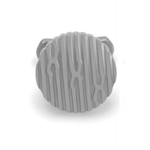 Manžetové knoflíčky Helveco Passion - stříbrné