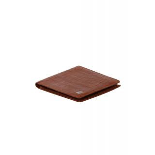 obrázek Kožená peněženka Helveco - světle hnědá kroko