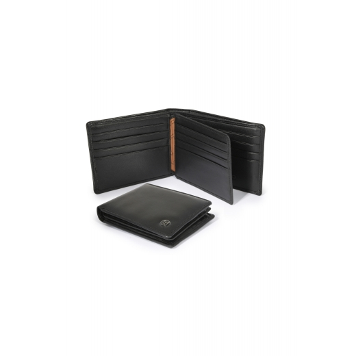 Kožená peněženka Helveco - černá