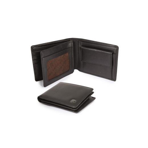 Kožená peněženka Helveco - hnědá