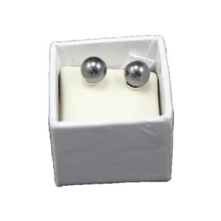 obrázek Náušnice Hematit 6mm