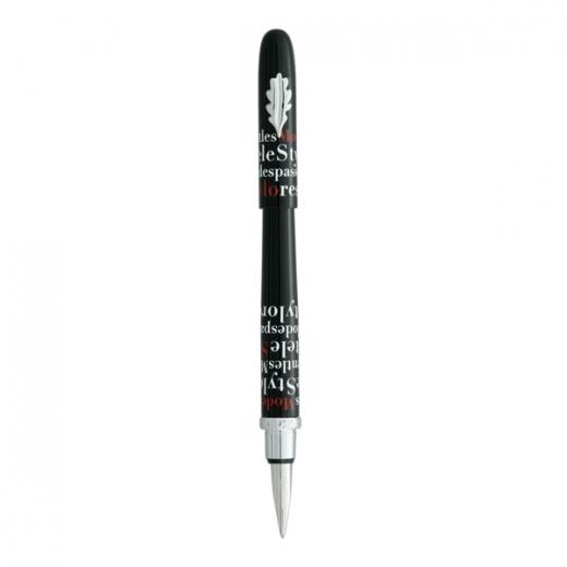 Plnící pero Ines de la Fressange Les modes - černá