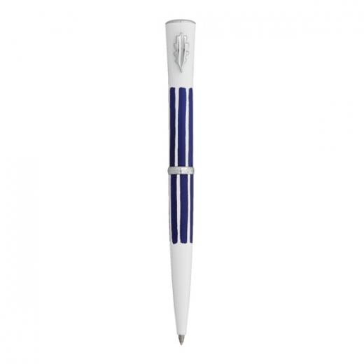 Kuličkové pero Ines de la Fressange Croquet - tmavě modrá