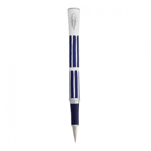 Plnící pero Ines de la Fressange Croquet - tmavě modrá