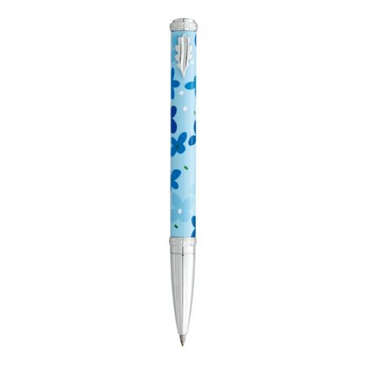 Kuličkové pero Ines de la Fressange Idylle - modrá