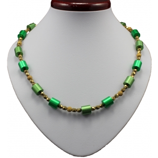 obrázek Náhrdelník Juvelis Roll Emerald