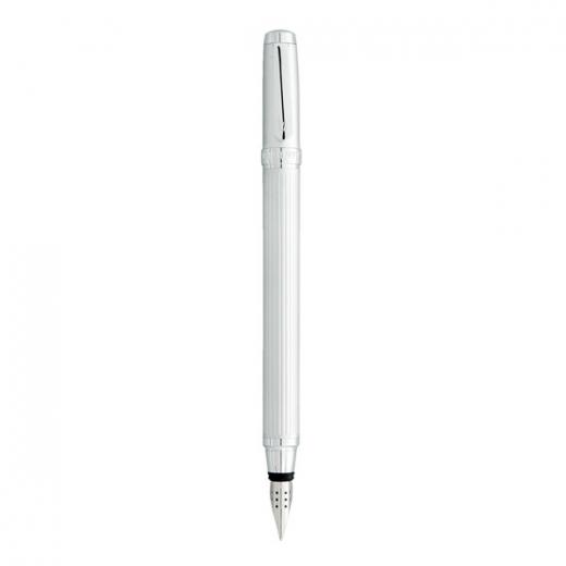Plnící pero Vuarnet Everest 8848 - matně stříbrná