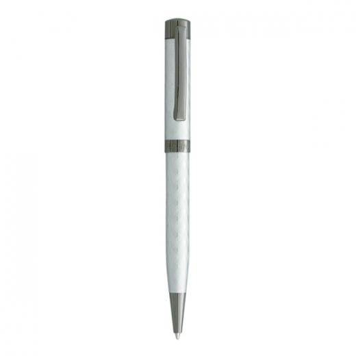 Kuličkové pero Vuarnet Aspen - matně stříbrná