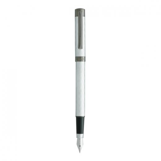 Plnící pero Vuarnet Aspen - matně stříbrná