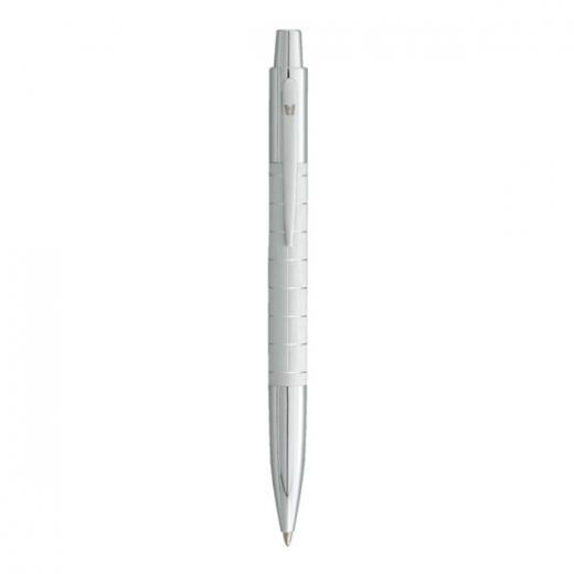Kuličkové pero Vuarnet Swing - matně stříbrná