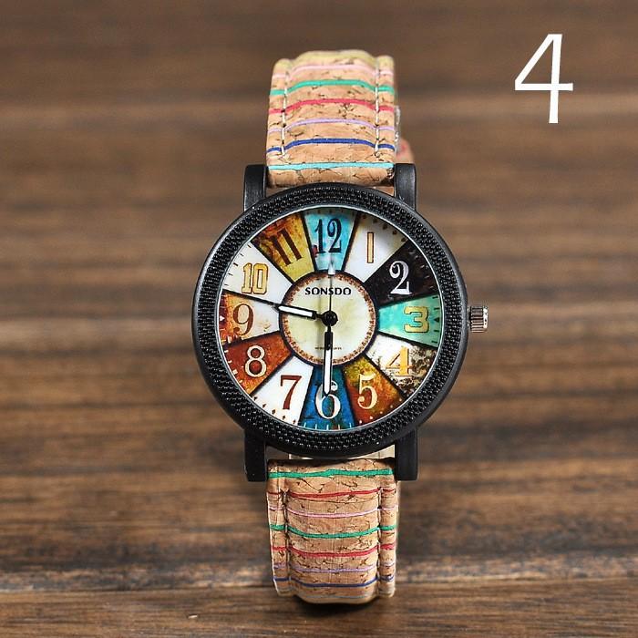 Dámské hodinky SONSDO Vintage Multicolor  d8762648533