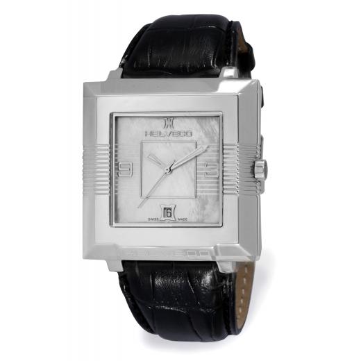 Pánské hodinky Helveco Pyramid - stříbrné