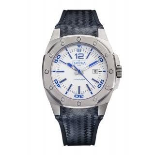 obrázek Pánské automatické hodinky Davosa Titanium - bílé