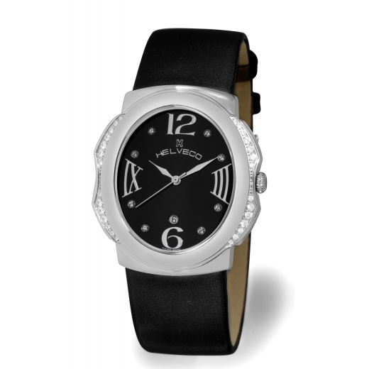 Dámské hodinky Helveco Bale - černá