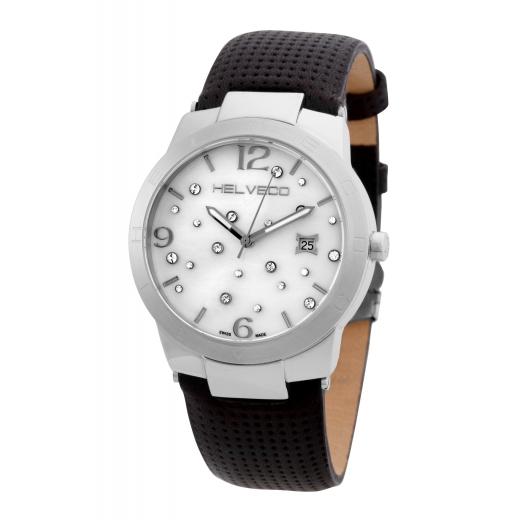 Pánské hodinky Helveco Constance - stříbrné