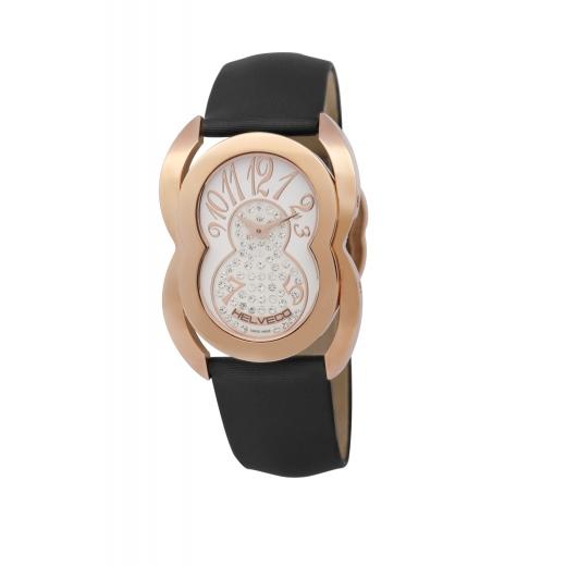 Dámské hodinky Helveco Lousanne - zlaté