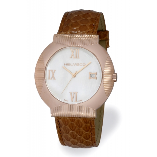 Pánské hodinky Helveco Medallion - zlaté