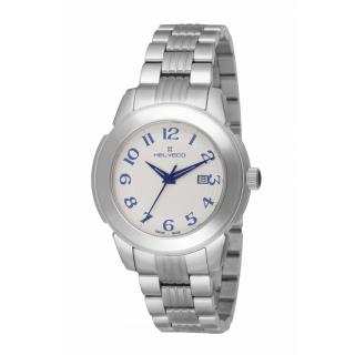 obrázek Pánské hodinky Helveco St.Moritz - stříbrné