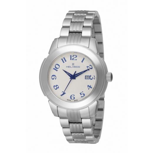 Pánské hodinky Helveco St.Moritz - stříbrné