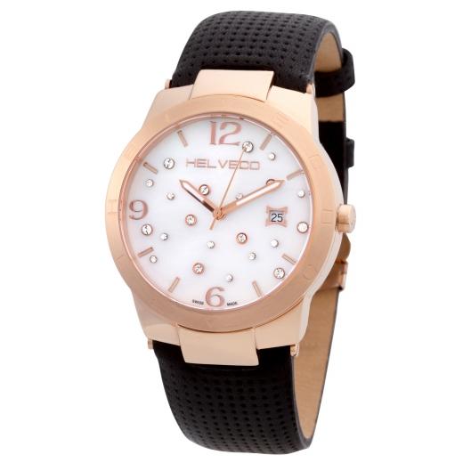 Pánské hodinky Helveco Constance - zlaté