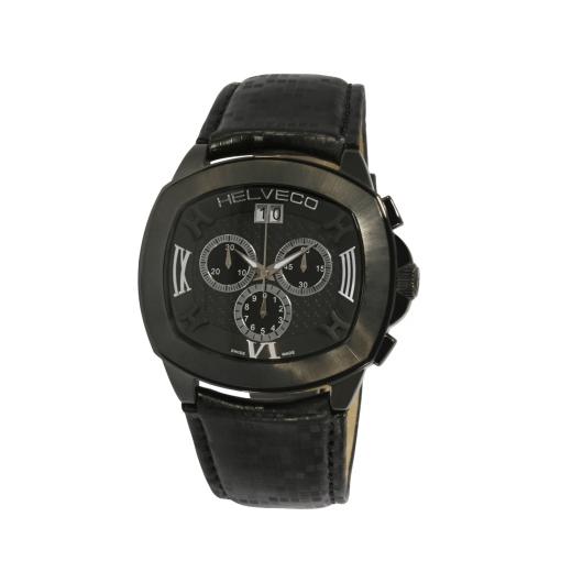 Pánské hodinky Helveco Locarno - černé