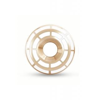 obrázek Manžetové knoflíčky Helveco Wheel Crown - zlaté