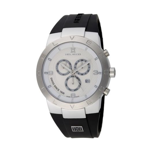 Pánské hodinky Helveco Constance Chrono - stříbrné