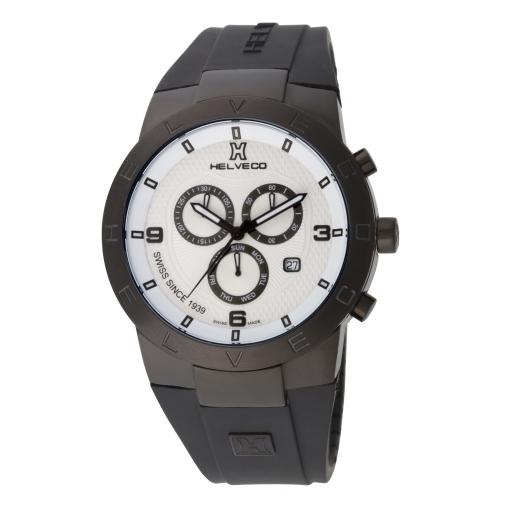 Pánské hodinky Helveco Constance Chrono - černé