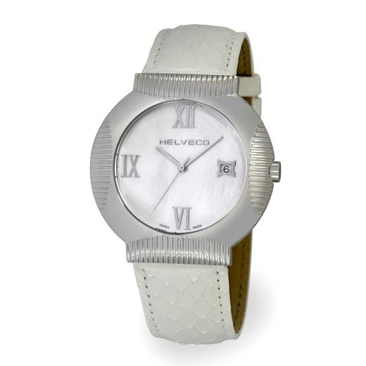 Pánské hodinky Helveco Medallion - bílé