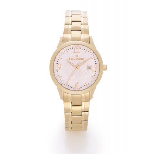 Dámské hodinky Helveco Sentier - zlaté