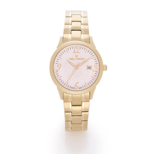 Dámské hodinky Helveco Sentier - zlaté 1c714781a0