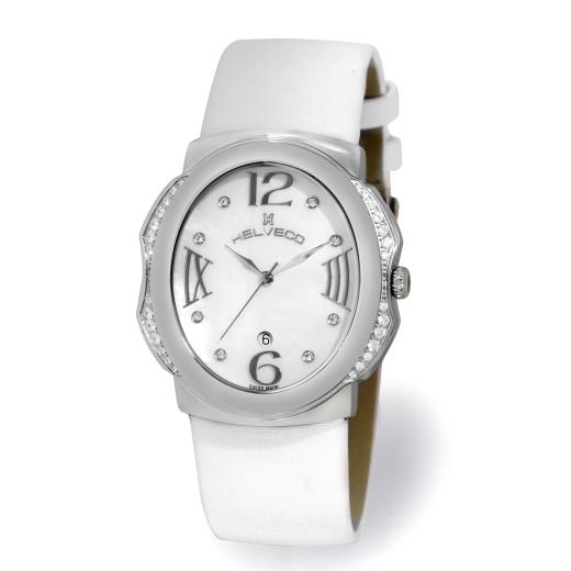 Dámské hodinky Helveco Bale - bílé